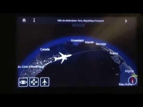 [Full HD] Air France 777-200 JFK to CDG Economy Class Full flight