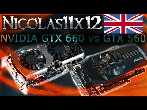 NVIDIA GTX 660 vs GTX 560