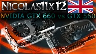 NVIDIA GTX 660 vs GTX 560