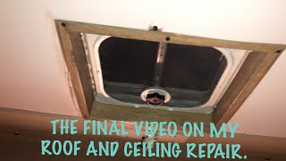 DIY - Repairs On My 1966 Mobile Scout RV Ceiling Part 2