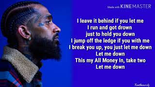 Nipsey Hussle - Double Up Ft. Belly & Dom Kennedy (Lyrics)