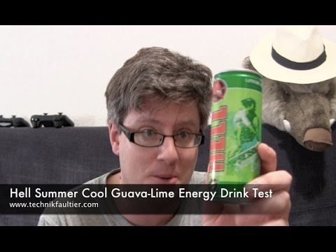 Hell Summer Cool Guava Lime Energy Drink Test