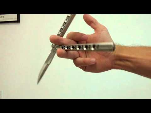 Beginner balisong butterfly knife tricks tutorial part 3