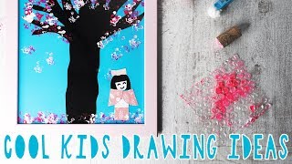 5 CREATIVE SAKURA TREE DRAWING TECHNIQUES FOR LITTLE ONES
