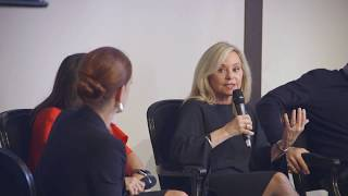 Julie Wainwright speaks at the 2018 FACC French-American Luxury Exchange