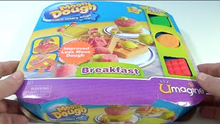 Moon Dough Magical Molding Dough Breakfast Make Waffles Pancakes Toast with Moon Dough!