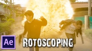 After Effects TUTORIALS - Rotoscoping, Roto Brush & Ice Bucket Challenge Accepted!