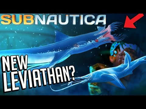 The SQUIDSHARK! - Subnautica - New Leviathan?, Arctic DLC Storms, Everything That's New - 1.0 Update