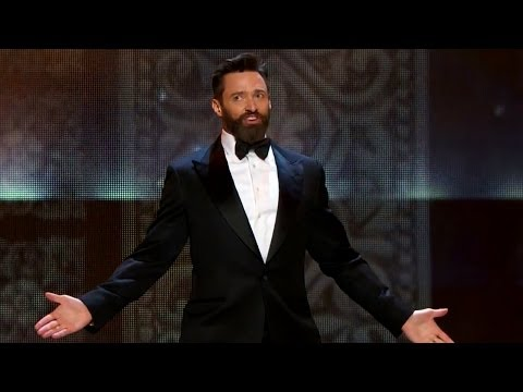 Hugh Jackman HOPS Through Tony Awards 2014 Opening