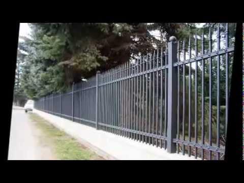 Wzory ogrodzeń metalowych