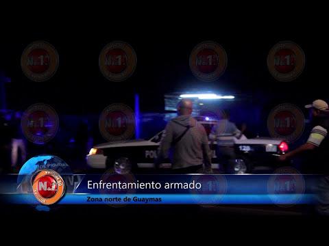 Enfrentamiento armado en Guaymas Norte deja un muerto