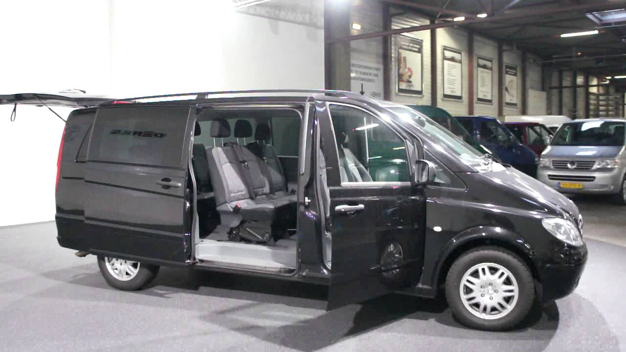 mercedes vito xl 115cdi automaat 9 persoons airco navi derks bedrijfswagens youtube. Black Bedroom Furniture Sets. Home Design Ideas