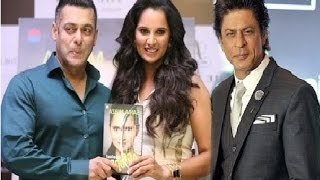 "Salman Khan Said-""Sania Mirza's Autobiography Ace Against Odds is an inspiration to women!!"""