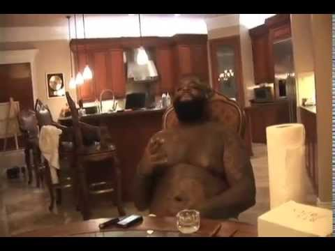 Rick Ross Comfortable Freestyle Video