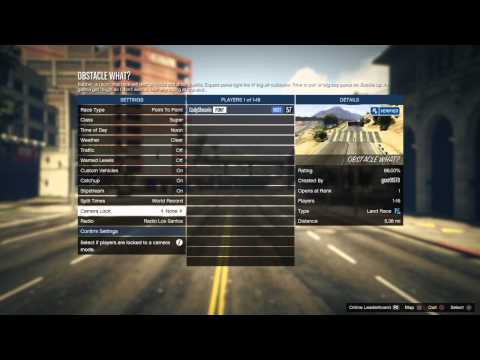 GTA V helicopter raceing