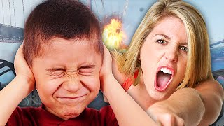 SQUEAKER VS ANGRY GAMER GIRL ON CALL OF DUTY! (Gun Game Trolling)