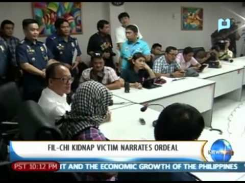 NewsLife: Fil-Chi Kidnap victim narrates ordeal