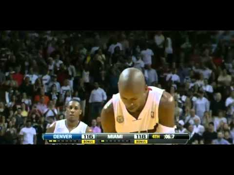 Ray Allen Game Winning  Shot for the Miami Heat