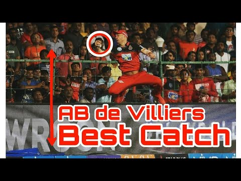 AB de Villiers Best Catch Ever || IPL 2018 || RCB V/S SRH ||
