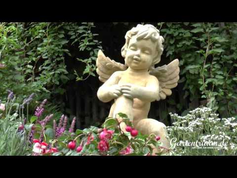 Engel Für Den Garten - Skulptur Auf Kugel - Putte - Maximilian