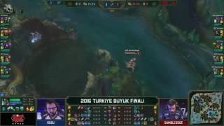 Supermassive vs Dark Passage l 2016 Şampiyonluk Ligi TBF Finali 1.Maç l SUP vs DP