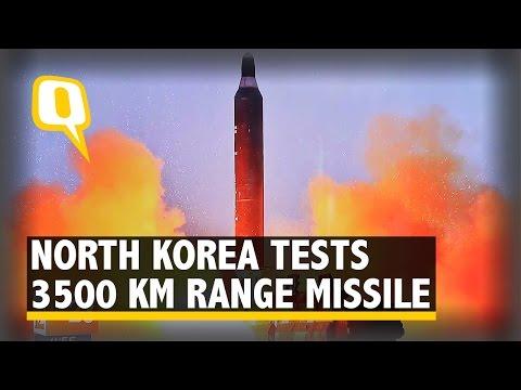 The Quint: North Korea Tests 3500 Km Range Missile; US, Allies Condemn Launch