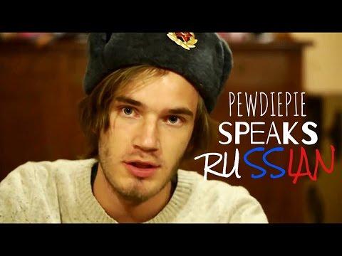 Pewdiepie speaks Russian