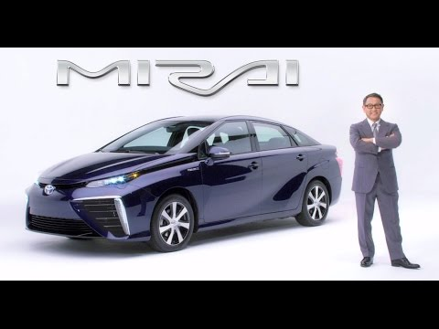 Akio Toyoda announces final Fuel Cell Sedan name - Mirai