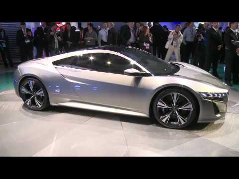 Первый взгляд на концепты Acura ILX и NSX, автошоу в Детройте