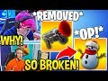 """STREAMERS USE *NEW* """"SNEAKY SNOWMAN"""" and REACT TO """"GRAPPLER"""" VAULTED! - Fortnite FUNNY Moments thumbnail"""