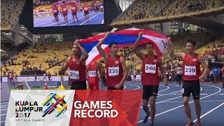 Athletics Men's 4 x 100m Final | 29th SEA Games 2017