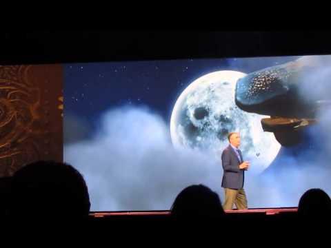 Cine del futuro BALLENA   Presentación de Intel
