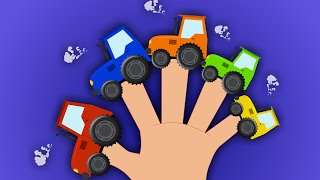 Tractor Finger Family | Finger Family Rhyme