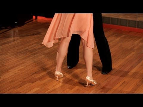 How to Do Basic Foxtrot Steps   Ballroom Dance