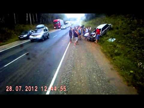 авария на автодороге САМАРАУФА,