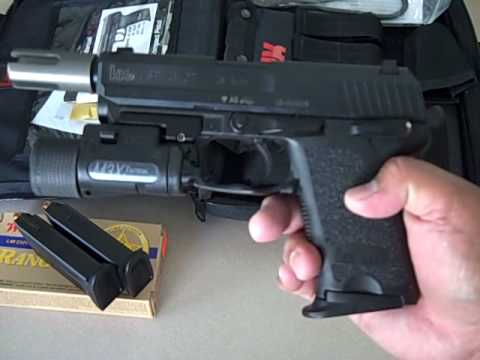 HECKLER & KOCH USP.45 COMPACT TACTICAL/COUNTER TERRORIST...
