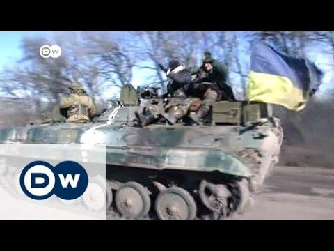 اوكرانيا: الانفصاليون يعلنون سحب أسلحتهم الثقيلة | الجورنال