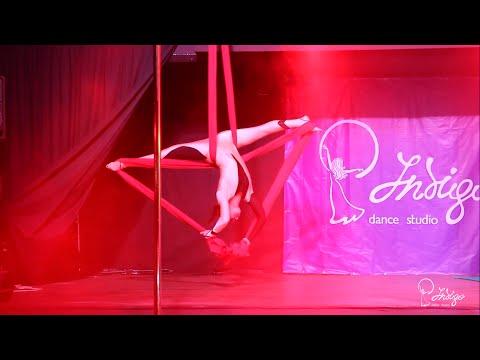 Ирина Головина, воздушные полотна! Indigo Dance Studio Отчетный концерт 2015!!!