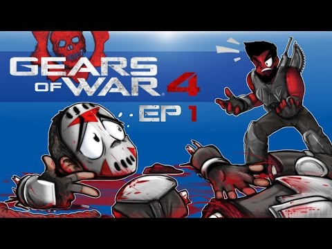 Gears of War 4 - BEST PROLOGUE EVER!!!!! (Co-op Campaign With Cartoonz) EP. 1