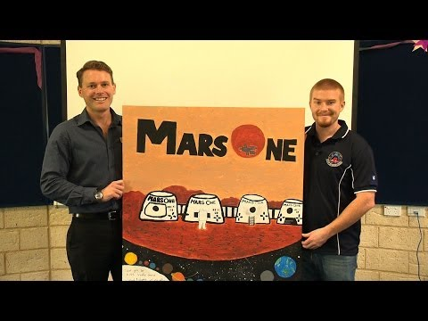 Josh Richards on Mars One, with Wattle Grove Primary Year 6 & 7 classes