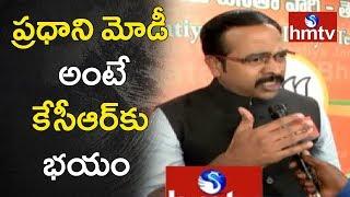 BJP Leader Krishna Sagar Rao Face to Face Over Telangana Govt Negligence | hmtv
