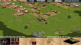 AoE 44 Random Hà Nội vs  GameTV ngày 11-10-2017