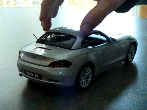 1 18 Kyosho Bmw Z4 Roof Open Close Youtube