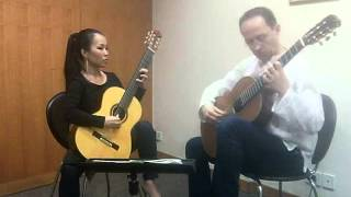 Denis Azabagic teaches Sonatina Meridional by M  M  Ponce