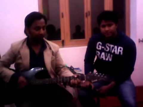 Tere Bin Sanu Soneya(delhi Heights)....song Tried By Me..-vinod Bhoj (v.bhoj) video