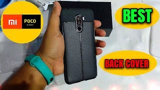 POCOPHONE F1   RUGGED BACK COVER   MOBILE CASE REVIEW   mi poco f1 back cover in Hindi