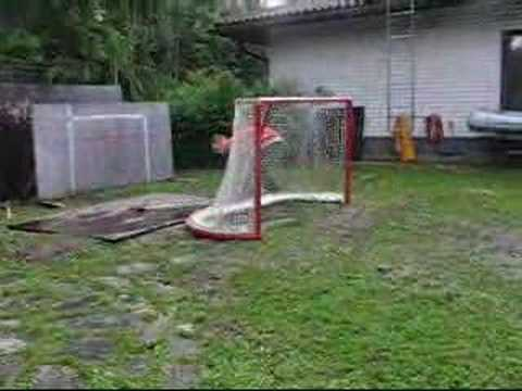 ice hockey tricks