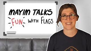 Talking Fun With Flags on The Big Bang Theory | Mayim Bialik