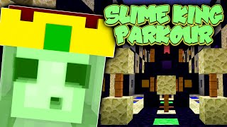 Minecraft Parkour | SLIME KING PARKOUR! | Parkour Race w/ TrueMU (Minecraft Parkour)