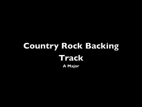 Country Rock Backing Track A [hq] video